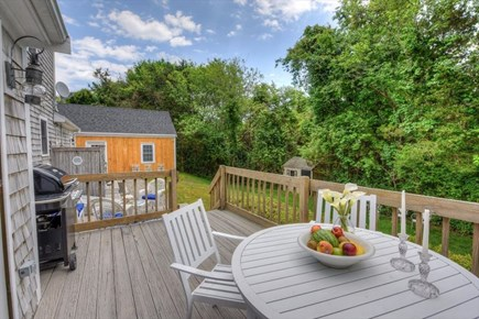 West Barnstable Cape Cod vacation rental - Deck