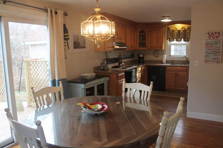 Eastham Cape Cod vacation rental - Dining / kitchen combo