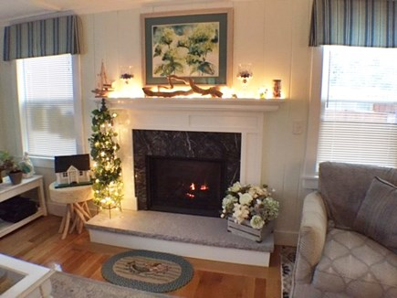 Yarmouth Cape Cod vacation rental - Gas Fireplace