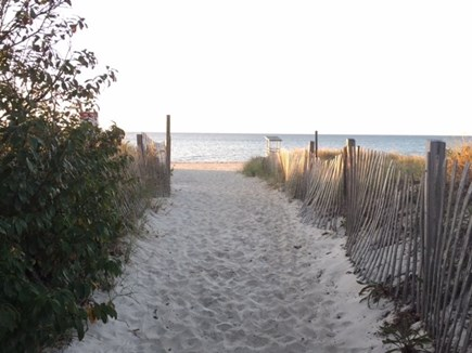 Yarmouth Cape Cod vacation rental - This way to the Beach