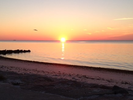 Yarmouth Cape Cod vacation rental - Sunrise at Seaview Beach