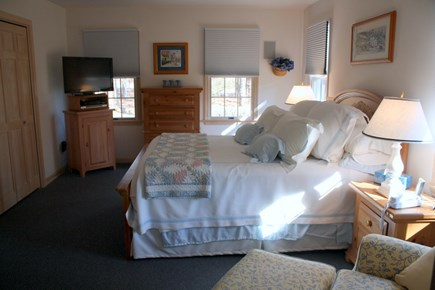 Eastham Cape Cod vacation rental - Master Bedroom with TV