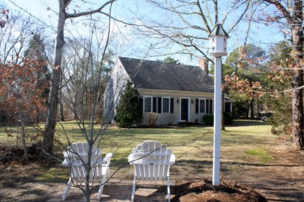 Eastham Cape Cod vacation rental - Front Yard with Chairs