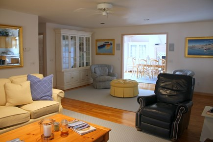 Eastham Cape Cod vacation rental - Living Room to Dining Room