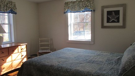 Eastham - Cooks Brook Beach  Cape Cod vacation rental - First Floor Bedroom - Queen
