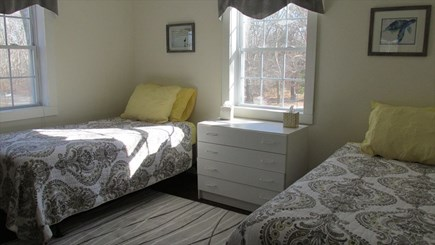 Eastham - Cooks Brook Beach  Cape Cod vacation rental - Second Floor Bedroom - Twins