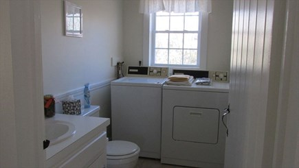 Eastham - Cooks Brook Beach  Cape Cod vacation rental - First Floor Bath with W/D