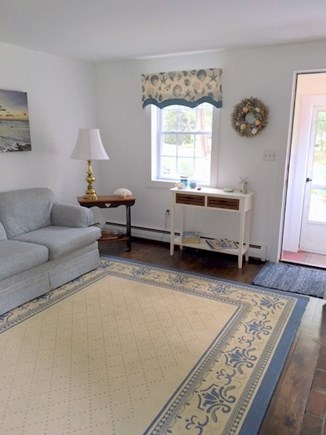 Eastham - Cooks Brook Beach  Cape Cod vacation rental - Living Room from Front Entrance