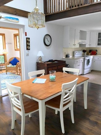 Eastham - Cooks Brook Beach  Cape Cod vacation rental - Dining Area to Kitchen & Sunroom