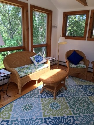 Eastham - Cooks Brook Beach  Cape Cod vacation rental - Sun Porch