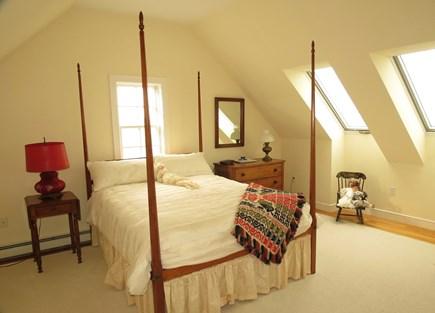 Hull MA vacation rental - Third floor queen room.