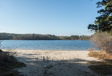Orleans Cape Cod vacation rental - Walk to Bakers Pond private association beach