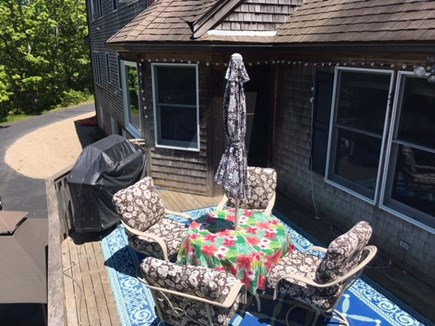 Orleans Cape Cod vacation rental - Great deck for eating outside