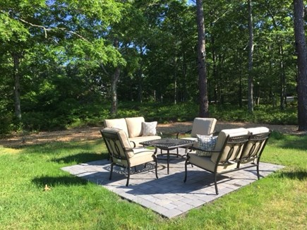 Orleans Cape Cod vacation rental - New fire pit lounge area