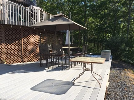 Orleans Cape Cod vacation rental - Great outdoor space with a spacious deck