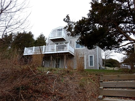 East Orleans Cape Cod vacation rental - View of the back of the home.