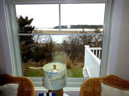 East Orleans Cape Cod vacation rental - View of water from living room window.