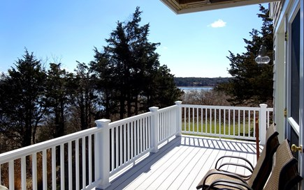 East Orleans Cape Cod vacation rental - Views from the deck