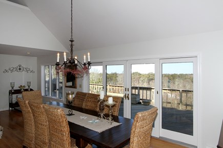 Brewster Cape Cod vacation rental - Enjoy a family dinner in this remarkable dining room