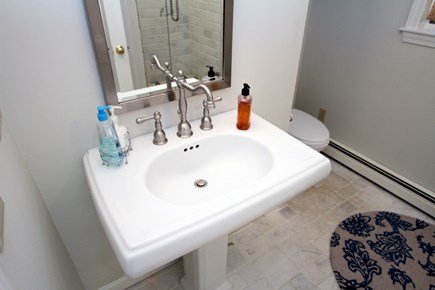 Brewster Cape Cod vacation rental - Modern and bright bathroom
