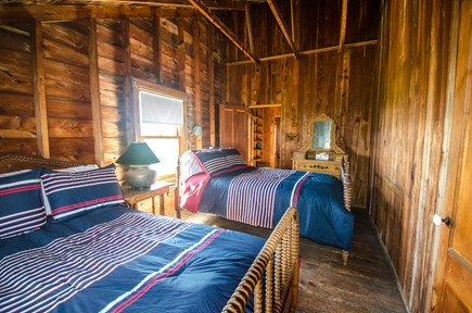 Truro Cape Cod vacation rental - Bedroom with two comfy full beds offers lots of sleeping space!