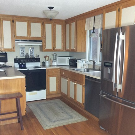 Eastham Cape Cod vacation rental - Fully equipped kitchen with stainless steel appliances