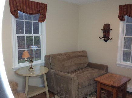 South Eastham 7 mins to Orlean Cape Cod vacation rental - View of full sleep sofa in den