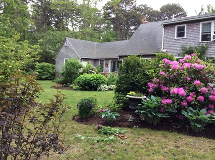 South Eastham 7 mins to Orlean Cape Cod vacation rental - Beautifully landscaped gardens with deck, grill &. fire pit