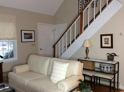 South Eastham 7 mins to Orlean Cape Cod vacation rental - View from kitchen to front door