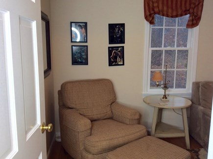 Eastham Cape Cod vacation rental - Put your feet up and watch TV in the den, across from the sleeper