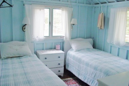 Pocasset, Wenaumet Bluffs Association Pocasset vacation rental - Guest Room 1 Includes Ceiling Fan and large closet