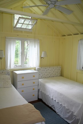 Pocasset, Wenaumet Bluffs Association Pocasset vacation rental - Guest Room 2 with Ceiling Fan