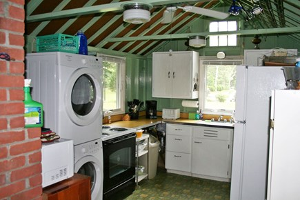 Pocasset, Wenaumet Bluffs Association Pocasset vacation rental - Fully equipped Kitchen with Washer And Dryer