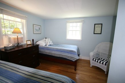 Brewster Cape Cod vacation rental - Bedroom 2, downstairs, 2 twin beds