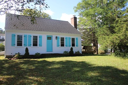 Brewster Cape Cod vacation rental - Front of Cottage on Old North Road