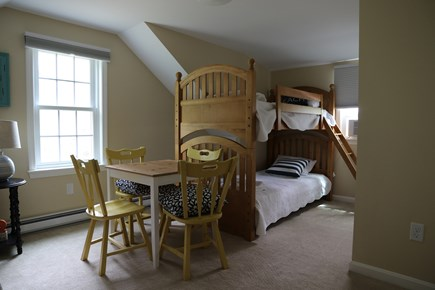 Brewster Cape Cod vacation rental - Bedroom 3, upstairs, 2 twin beds and 1 bunkbed