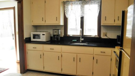South Dennis Cape Cod vacation rental - Newly remodeled kitchen with granite counter tops.