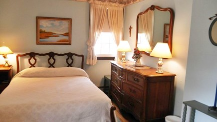 South Dennis Cape Cod vacation rental - Master bedroom with full size bed.