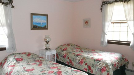 South Dennis Cape Cod vacation rental - Bedroom #2 with two twin beds.