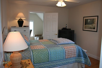 Brewster Cape Cod vacation rental - Guest room #1 with queen bed and attached den