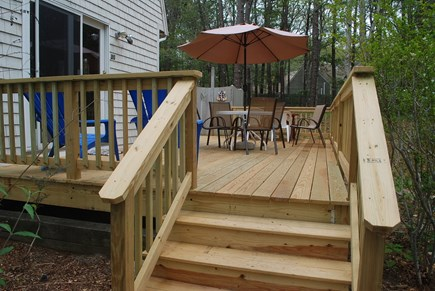 Wellfleet Cape Cod vacation rental - Brand new wrap deck for outdoor living!