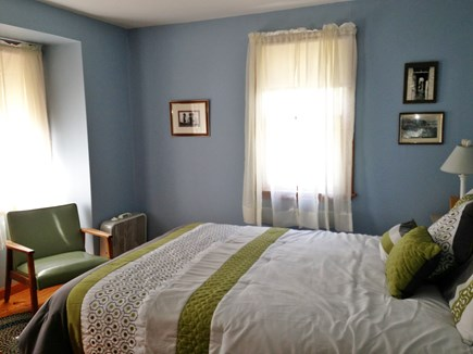 Wellfleet Cape Cod vacation rental - Sunny upstairs bedroom 2 (first with queen bed is downstairs)