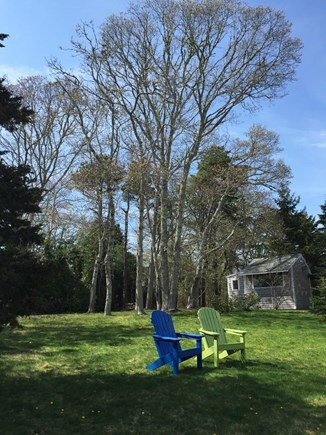 Harwich Cape Cod vacation rental - Private Back Yard of House