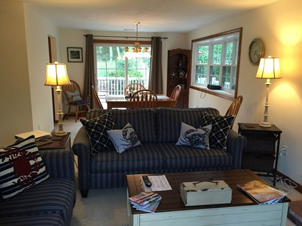 Harwich Cape Cod vacation rental - Living Room/Dining Room View from Front Door