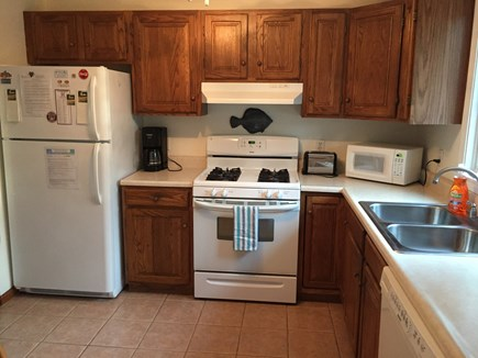 Harwich Cape Cod vacation rental - Kitchen with Gas Stove