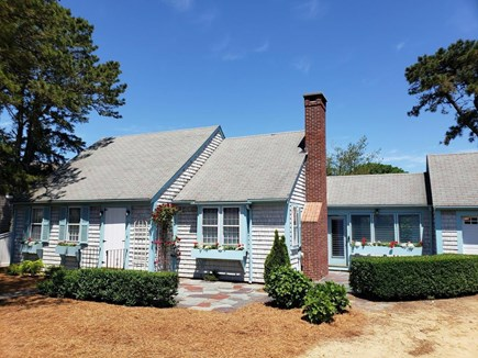 West Harwich Cape Cod vacation rental - Front yard