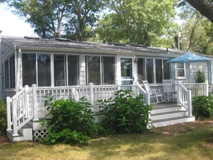Pocasset Pocasset vacation rental - Front deck