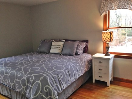 Dennis Cape Cod vacation rental - Master Bedroom(King bed) with en suite. small flat screen TV