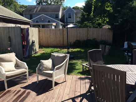 North Falmouth Cape Cod vacation rental - Deck and Outdoor Shower
