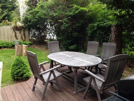 North Falmouth Cape Cod vacation rental - Deck